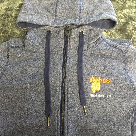 Hooters Jackets & Blazers - Official Hooters Zip Up Hoodie